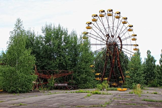 žluté ruské kolo
