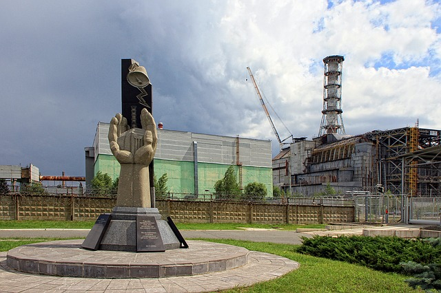 památník v Černobylu
