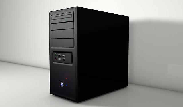 skříňka počítače