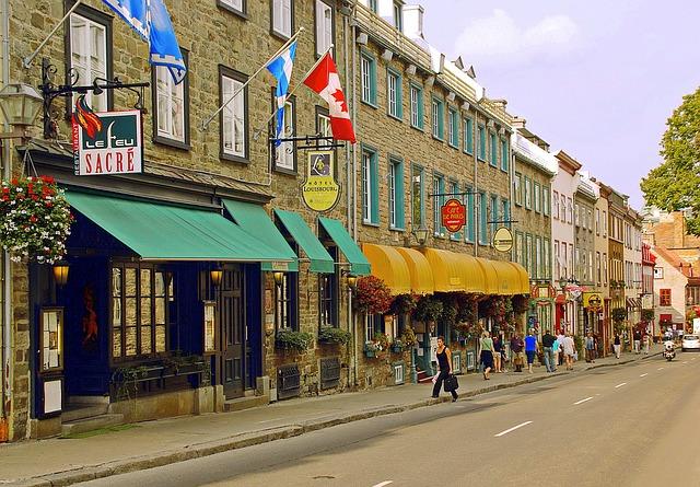 kanadská ulice
