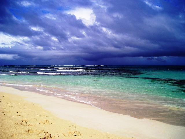 pláž flamenco
