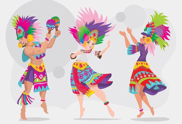 etnický tanec