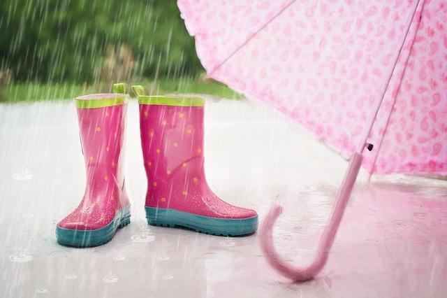 holinky a deštník