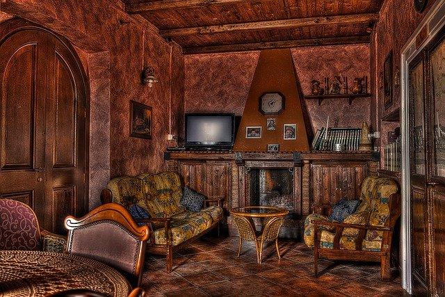 dům ve dřevě