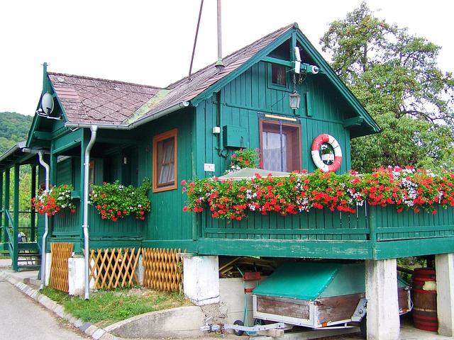 zvelebená chata