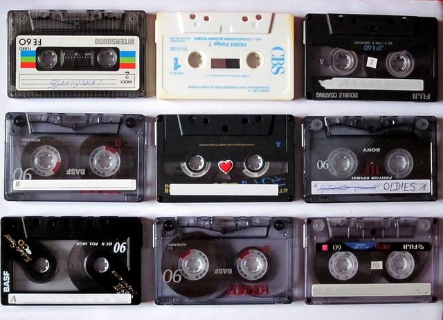audio kazety