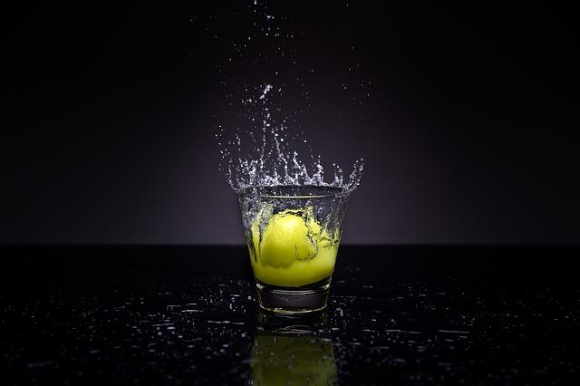 citron ve vodě