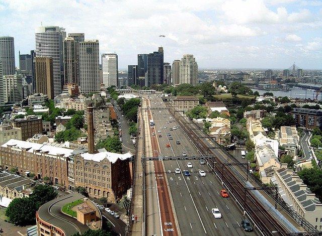dálnice ve městě