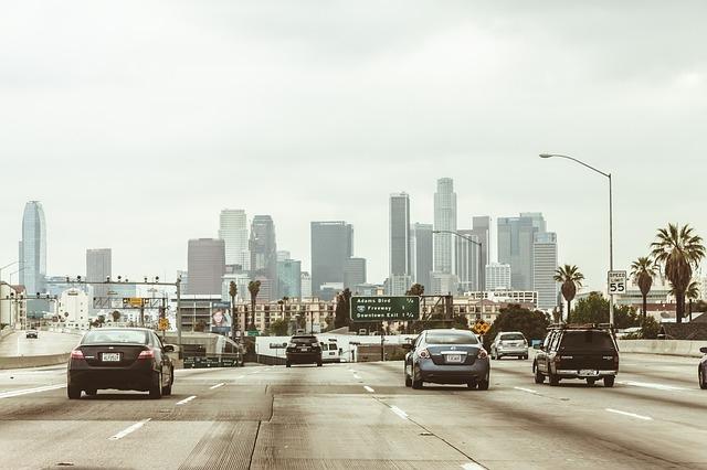 auta v Los Angeles