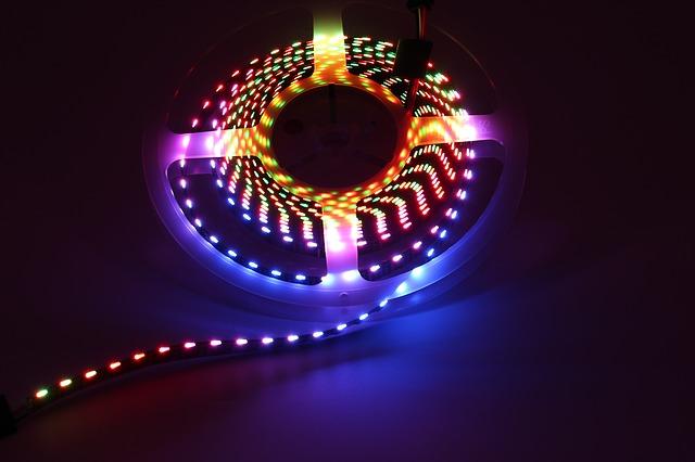 barevný pás