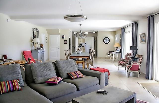 kuchyně s obývákem